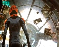 VIDEO: 3D Ender's Game Theater Display