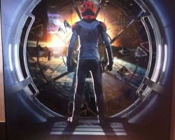 'Ender's Game' Rotating Battle Room Theater Display