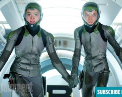 Asa Butterfield and Hailee Steinfeld Talk Flash Suits and Heights