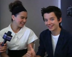 VIDEO: Hailee and Asa On Geeking Out On Set