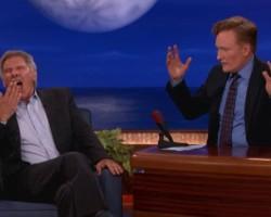 VIDEO: Harrison Ford on Conan