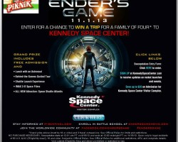 Win a Trip to Kennedy Space Center with Pik-Nik!