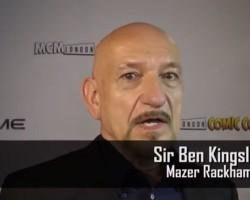 VIDEO: Sir Ben Kingsley on Acting with Tā Moko