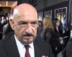 VIDEO: Sir Ben Kingsley with Ender's Game Fansites