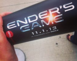 SPOTTED: Ender's Game Cups at AMC Theatres
