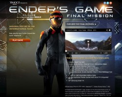 Yahoo! Movies Launches 'Ender's Game' Final Mission Sweepstakes
