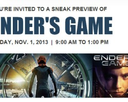 IT Companies Sponsoring Special Screenings for 'Ender's Game'