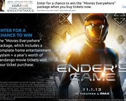 Fandango Launches Final Mission Sweepstakes 'Movies Everywhere'