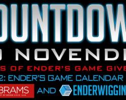 Countdown to NovEnder Day 2: Ender's Game Calendar