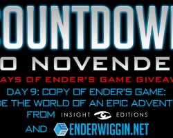 Countdown to NovEnder Day 9: Ender's Game Companion Book