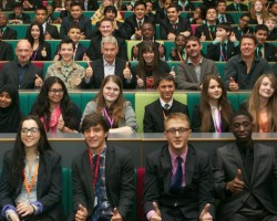 VIDEO: Ender's Game Cast and Crew Visit Westminster Academy