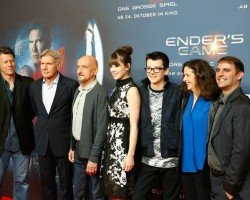 GALLERY: Cast and Producers Present Ender's Game in Berlin