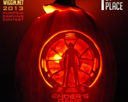 2013 Ender's Game Pumpkin Carving Contest Results