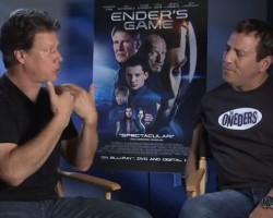 VIDEO: Gavin Hood Talks Ender's Game for Blu-ray Release