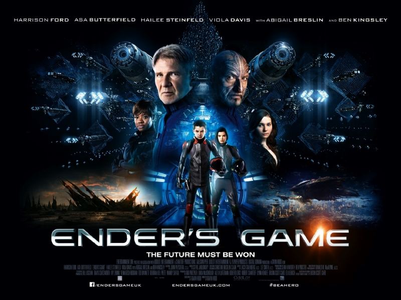 New UK Ender's Game Poster | EnderWiggin.net - Ender's Game Movie ...